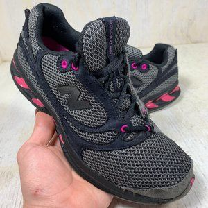 New Balance womens running shoes WW850SB grey/pink